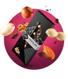 Chocolate Negro Músico Berclau