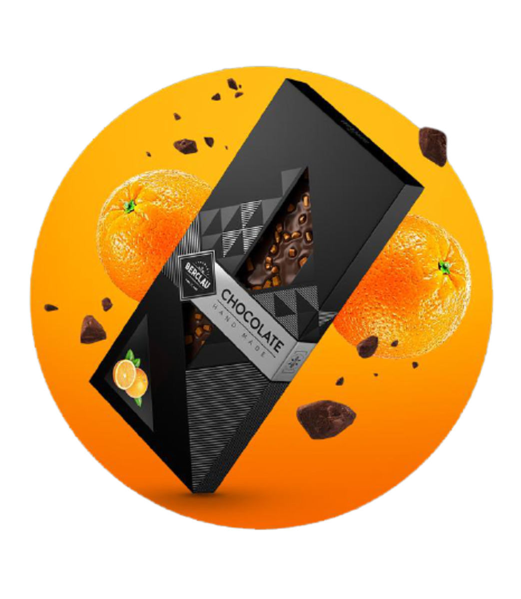 Chocolate Negro con Naranja Berclau