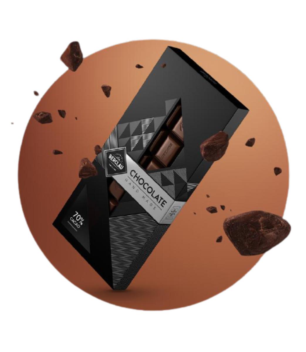 Chocolate Negro 70% Cacao Berclau