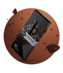 Chocolate Negro 80% Cacao Berclau