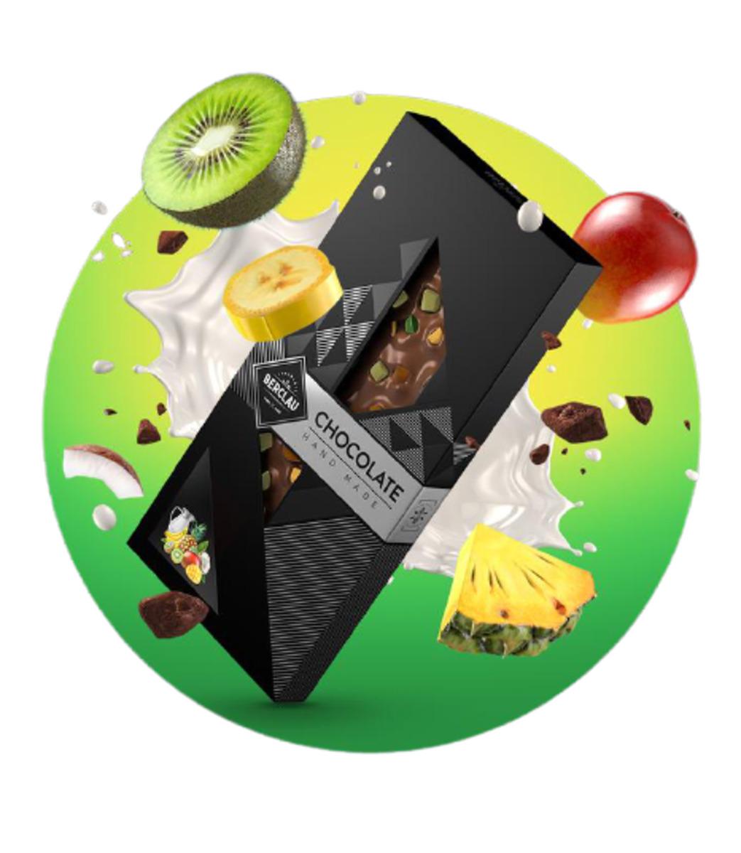 Chocolate con Leche Tropical Berclau