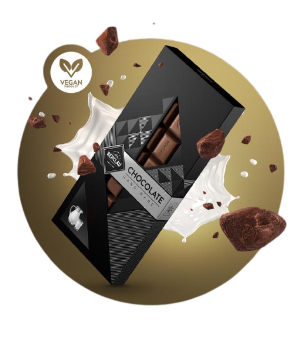 Chocolate con Leche Vegano Berclau