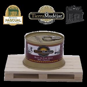Bloc de Foie Gras de Canard 30 % trozos - Tierra Mudéjar - 130 g
