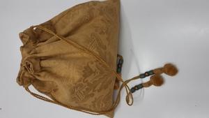 Bolso cintura mujer mostaza