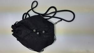 Bolso cintura mujer, color negro