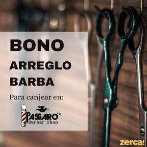Bono arreglo de barba PARA CANJEAR EN PASSARÓ PLAZA SAN BRIZ