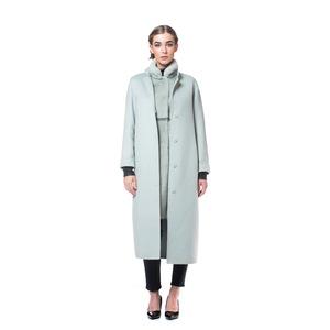 Abrigo largo de cashmere