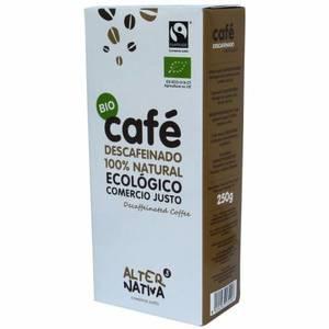 Café ECOLÓGICO molido descafeinado Alternativa