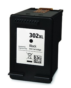 Cartucho alternativo para HP F6U68AE (Nº302XL) Negro