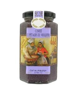 Confitura pétalos violeta