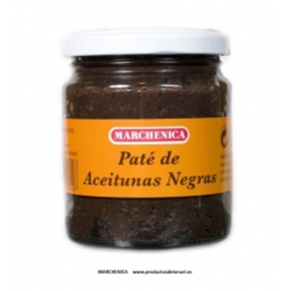 Paté de olivas negras