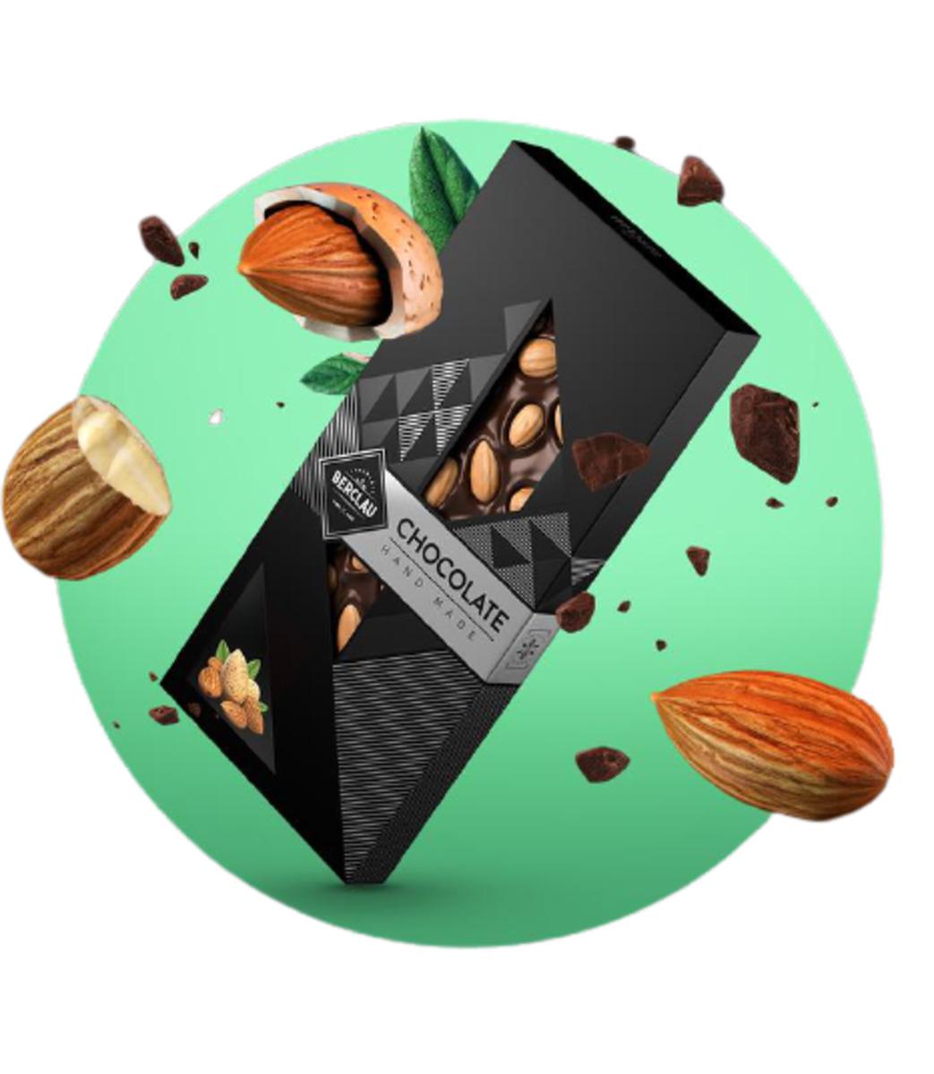 Chocolate Negro con Almendras Berclau