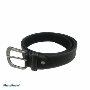 Cinturón mujer negro liso