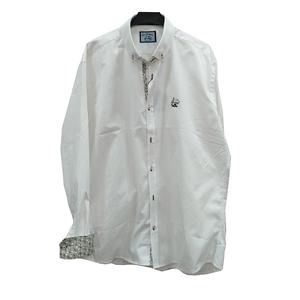 Camisa blanca de manga larga de la marca La Vespita