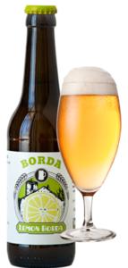 Cerveza artesana Borda Lemon
