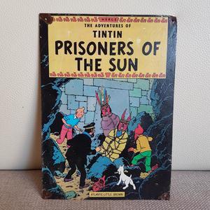 CHAPAS DE TINTÍN: El Templo del Sol. (Prisioners of the sun)