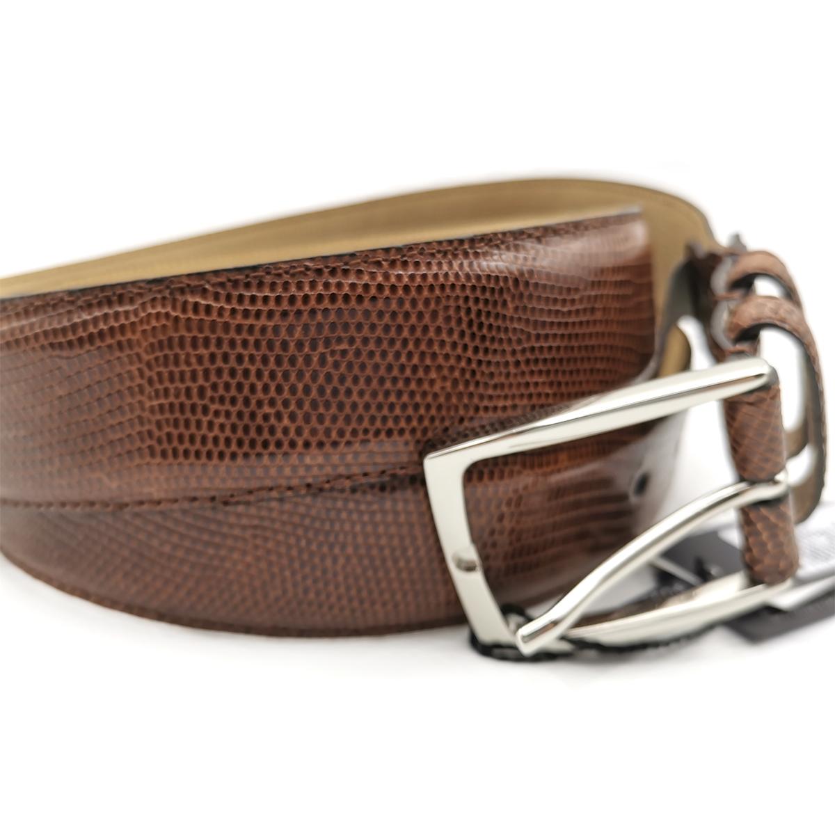 Cinturón Piel de Lagarto Fabricación Española