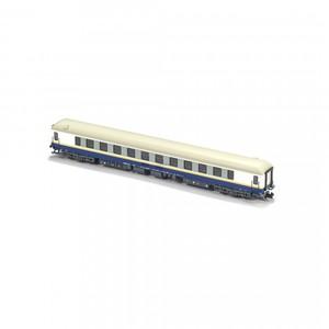 Coche de viajeros 16200 RENFE, Proyecto RAMA, Serie Exclusiva Zaratren, Escala N. Marca Mftrain, Ref: N50816.