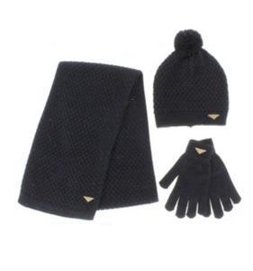 Conjunto invierno liso negro