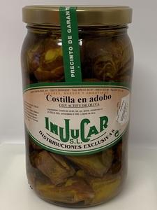 """Costilla en adobo """"Injucar"""" 1000gr."""