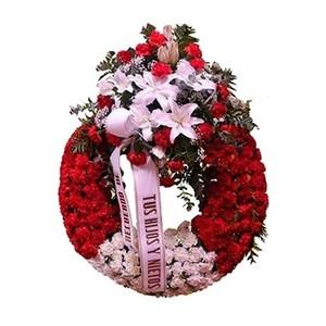 Crepúsculo corona para funeral