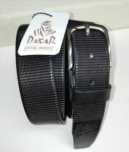 Cinturón Dakar de piel 3,5cm. de ancho