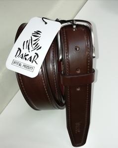 Cinturón de piel Dakar de 3,5cm de ancho