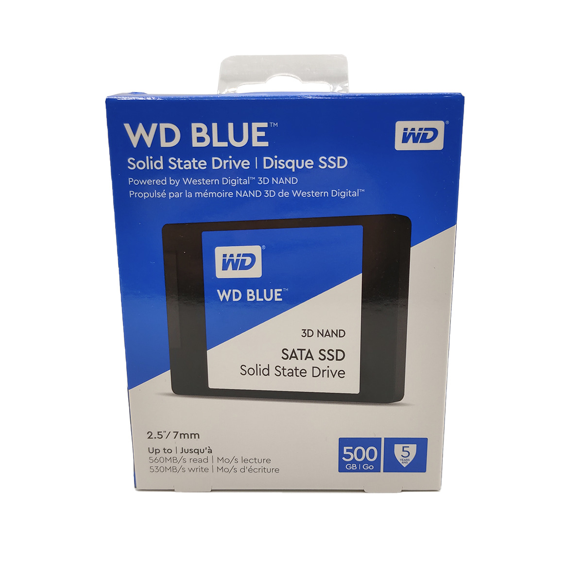 Disco Sólido 500Gb - WD Blue