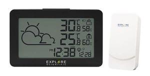 Estación meteorológica con reloj radio controlado EXPLORE SCIENTIFIC WSH-4002