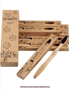 Oral Teck - BioWhite Cepillo dientes de Bambú