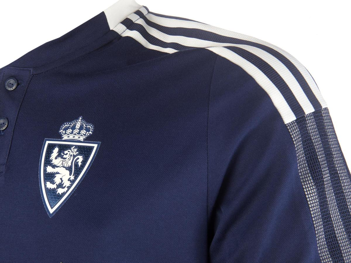 Polo Paseo Jugador Adulto 2021-22 - Real Zaragoza