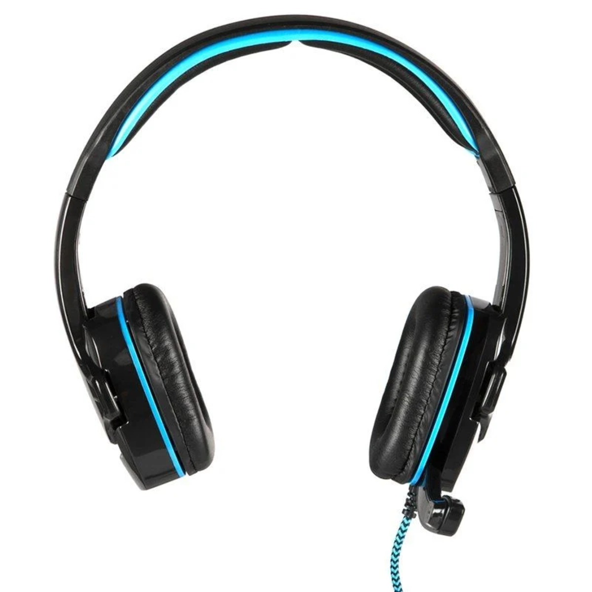 Auriculares Gaming NGS GHX-505. Micrófono negro azul GHX-505.