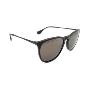 Gafas de sol Unisex acetato negra lente verde. Marca VISTA ÓPTICA