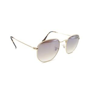 Gafas de sol Unisex metal lente espejada degradada. Marca VISTA ÓPTICA