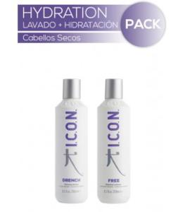 Lavado + Hidratación cabello_HYDRATION Drench+Free_ICON
