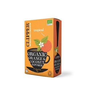 Infusión de naranja y coco. BIO. 20 filtros.