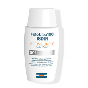 Fotoprotector facial Fotoultra 100 Active Unify  ISDIN