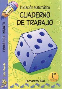 Iniciación Matemática proyecto EMI 1º Trimestre 4-5 años