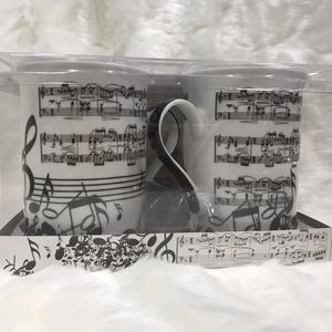 Set 2 tazas música