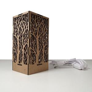 Lámpara de diseño decorativa Diseño Bosque desnudo