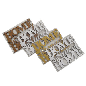 "Rótulo ""Home Sweet Home"" para colgar"