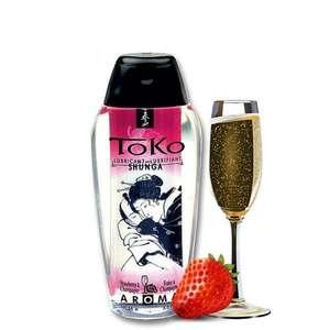 Lubricante Toko Fresas con Champagne