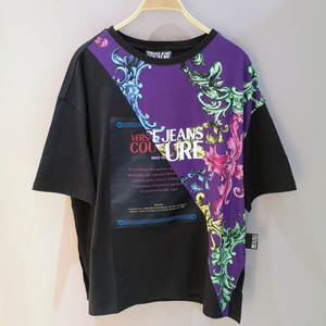 Camiseta Over Certificado Versace