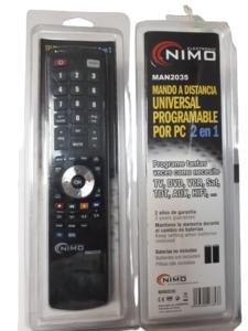 Mando a distancia universal programable NIMO