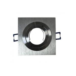 Empotrable LED Cuadrado 6 Watios Aluminio