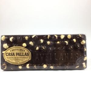 Chocolate negro con avellanas Pallás