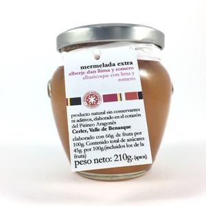Mermelada de albaricoque, lima y romero La Cullera