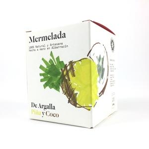 Mermelada de piña y coco De Argalla
