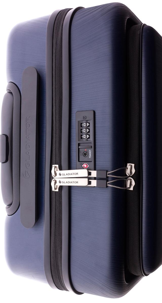 Maleta de cabina para trabajo y ocio con bolsillo protector para PC y tablet.