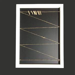 Marco cuerda pinzas 50x70 Natural